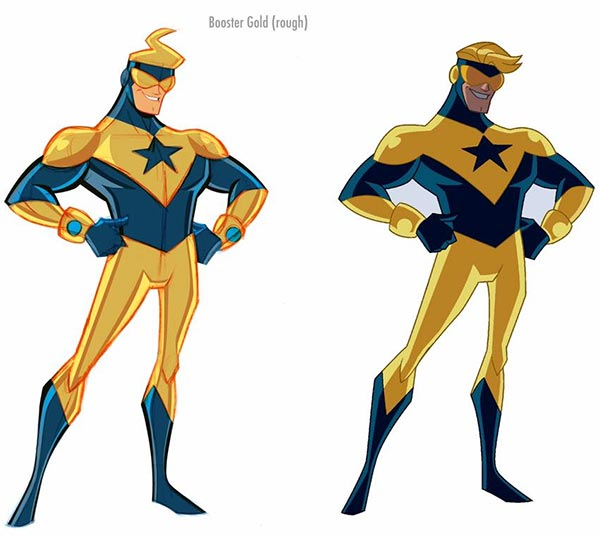 Booster Gold by Shane Glines