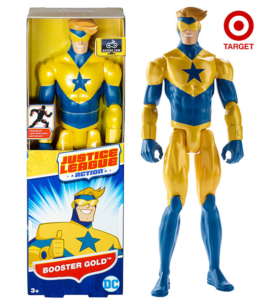 Justice League Action 12-inch Booster Gold figure at Target