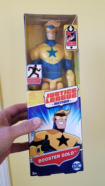 Won't You Play with My Booster Gold