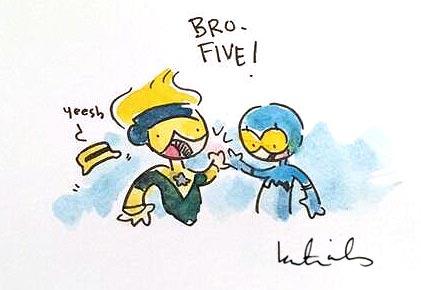 Bro Five by Katie Cook