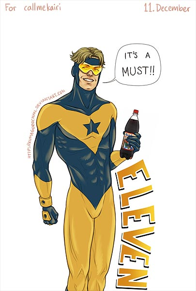 Booster Gold by Kumagorochan