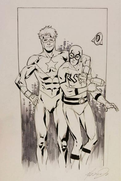 Blue and Gold by Marcus To from Fan Expo 2015