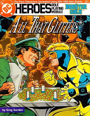 All That Glitters cover by Dan Jurgens, Ty Templeton, Bob LeRose. © DC Comics 1987