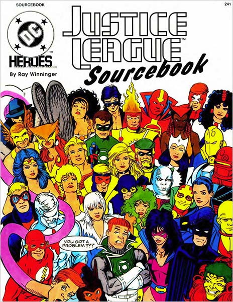 Mayfair Games Justice League Sourcebook