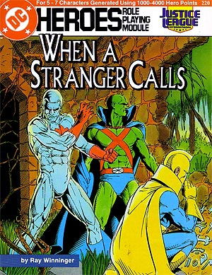 When a Stranger Calls cover by Kevin Maguire, Karl Kesel, Bob LeRose. © DC Comics 1987