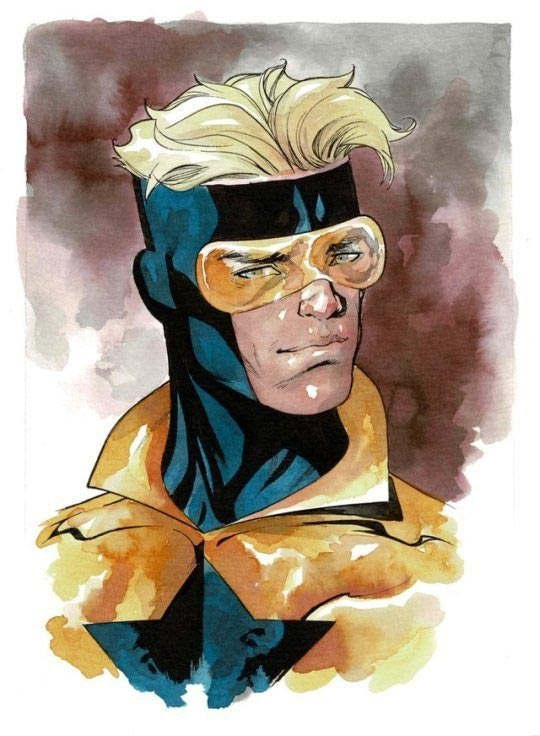 Booster Gold sketch by Mike McKone