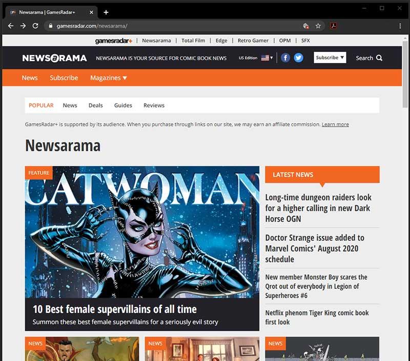 See ya, Newsarama