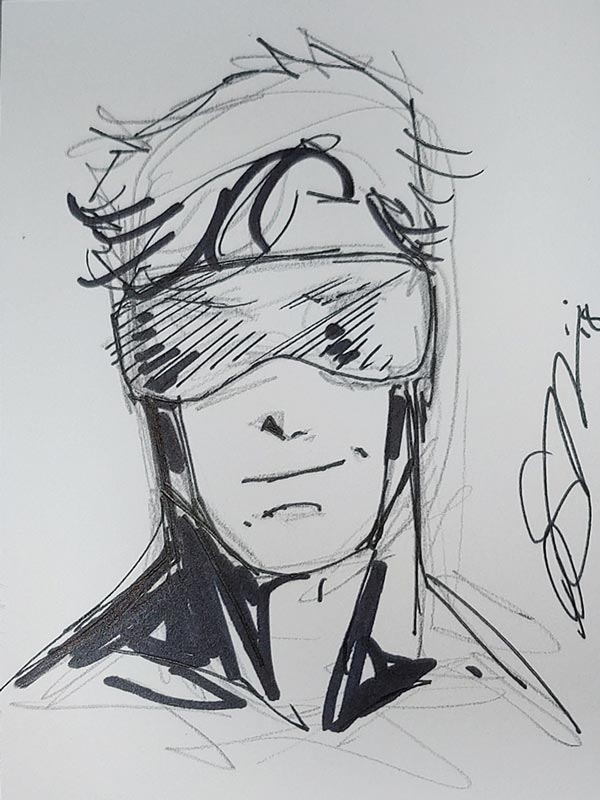 Booster Gold by Peter Simeti for Steven Palchinski