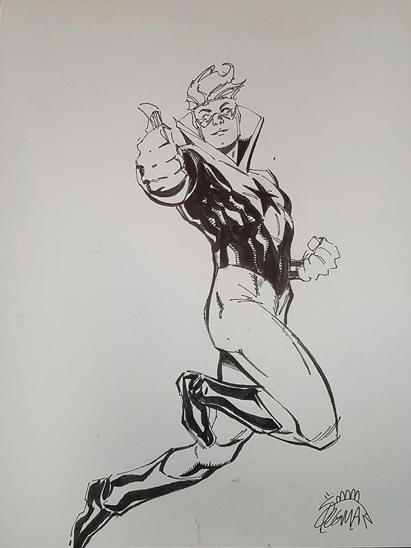 Booster Gold by Ryan Stegman for Steven Palchinski