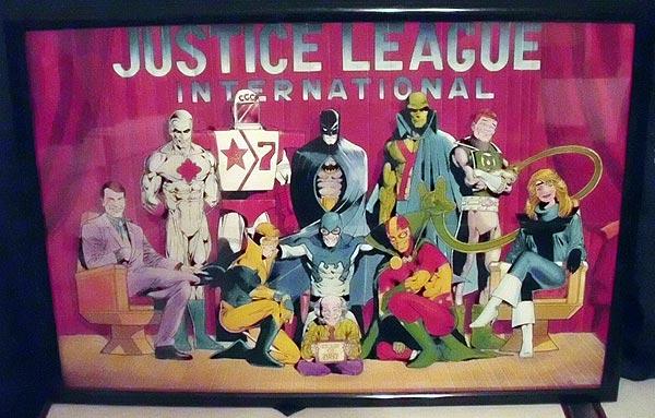 Justice League International Poster © DC Comics
