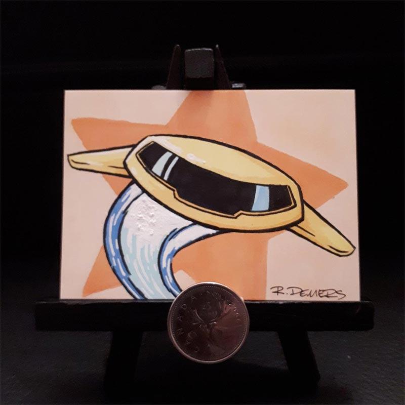 Skeets fan art by Robert Demers