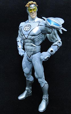 White Lantern Booster Gold figure by saber4735
