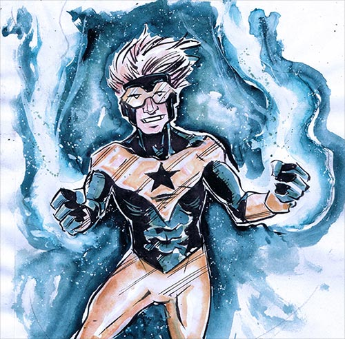 Booster Gold by Shawn Daley