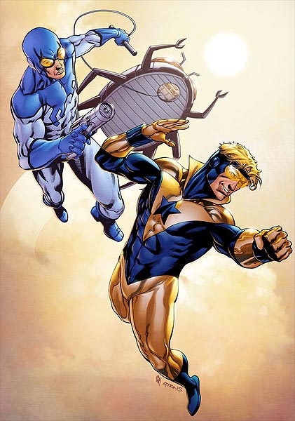 Booster and Blue by Robert Atkins and Simon Gough