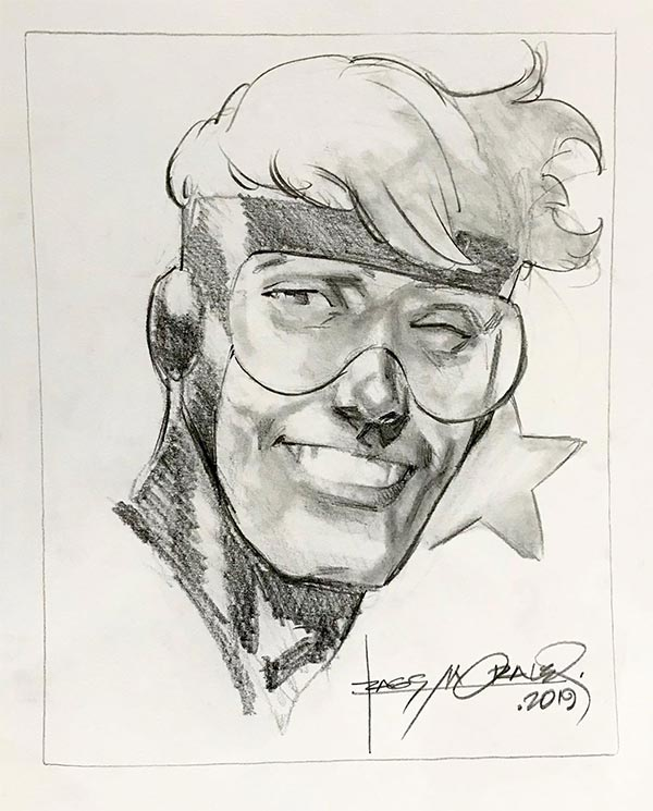 Booster Gold commission by Rags Morales