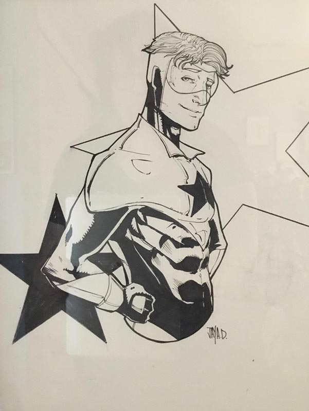 Booster Gold commission by Jay Defoy