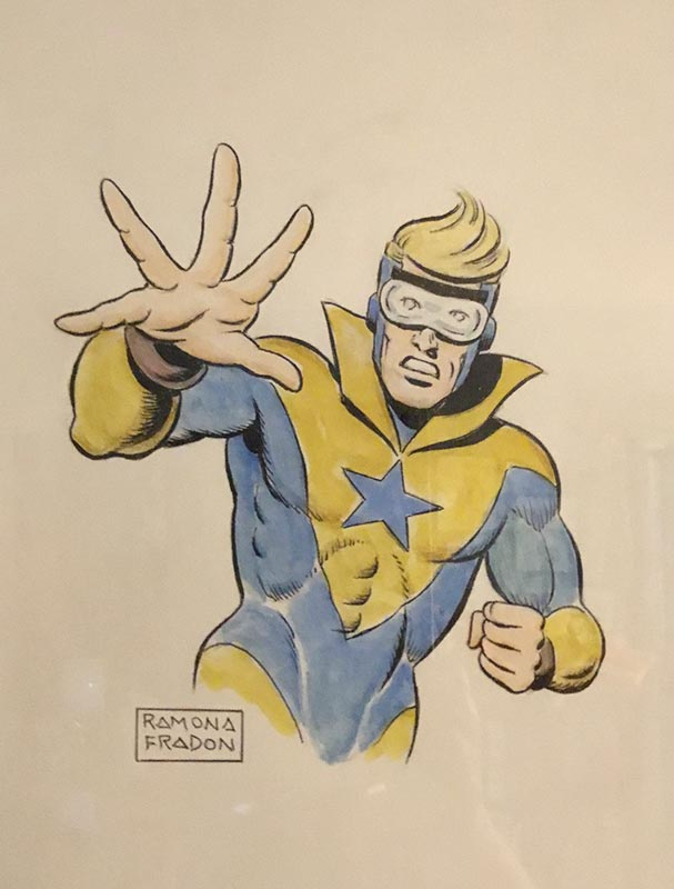 Booster Gold commission by Ramona Fradon