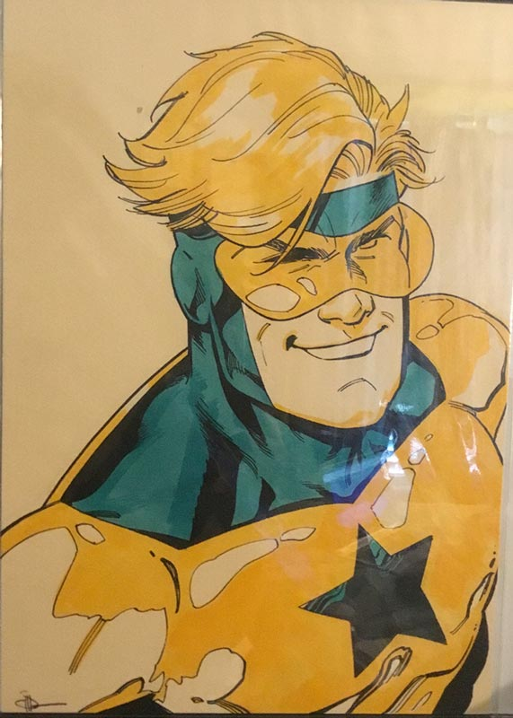 Booster Gold commission by Doc Shaner