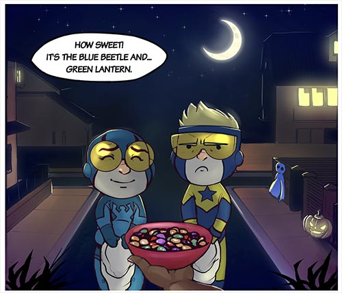 the true meaning of halloween by The Unbrilliant at DeviantArt.com