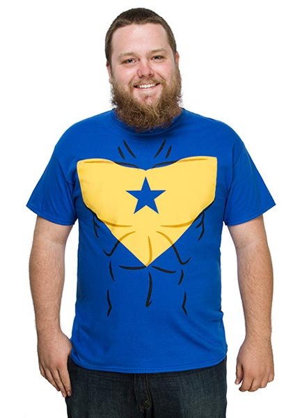Booster Gold t-shirt at ThinkGeek.com