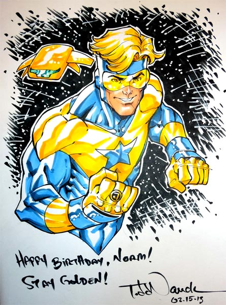 Happy Birthday, Norm! Stay Golden! Todd Nauck
