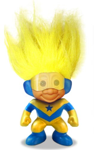 Booster Gold Troll Doll