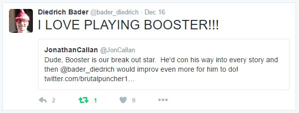 I Love Playing Booster!!! @bader_diedrich