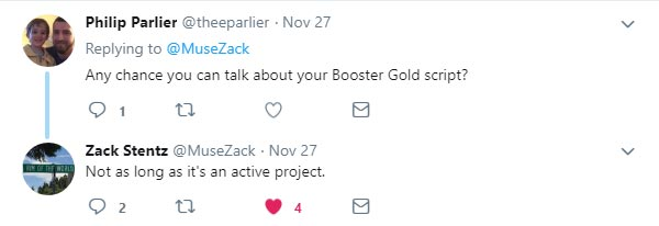 Not as long as it's an active project. @MuseZack 28 Nov 2018