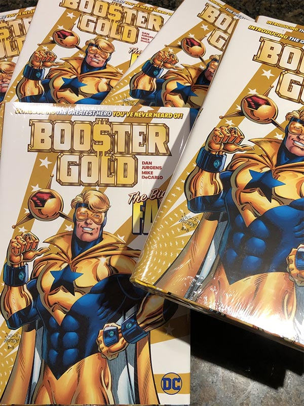 Booster Gold: The Big Fall photo tweeted by Dan Jurgens on October 31, 2019