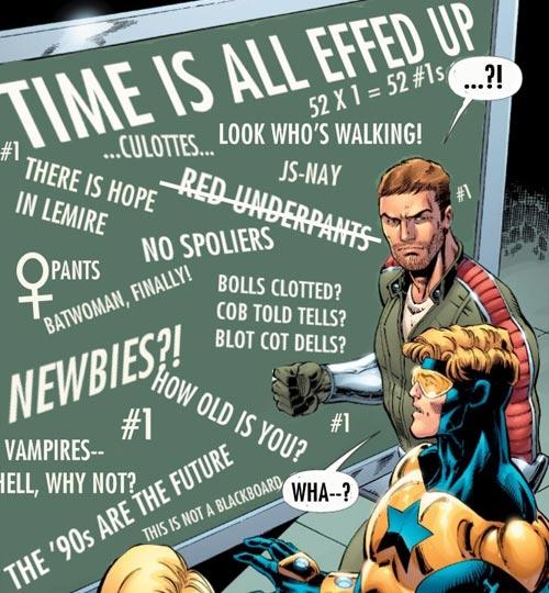 Image © DC Comics, photoshop courtesy of Hurbert Vigilla